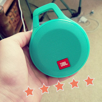 Photo of JBL Clip Portable Bluetooth Speaker With Mic (Purple) uploaded by Cassandra L.