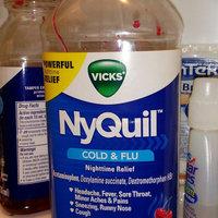 Vicks NyQuil Cold & Flu Nighttime Relief Cherry Flavor Liquid uploaded by RobinandBrandi M.