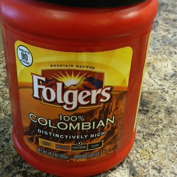 Photo of Folgers 100% Colombian Med-Dark Roast Ground Coffee uploaded by Amanda M.