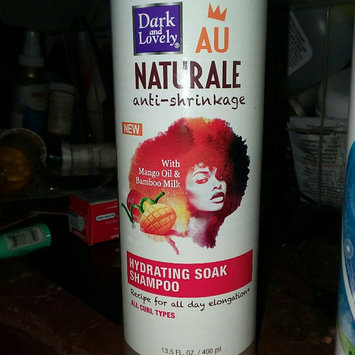 Photo of Dark & Lovely Au Natural Hydra Shampoo 13.5 oz. (Pack of 6) uploaded by Johmazia G.