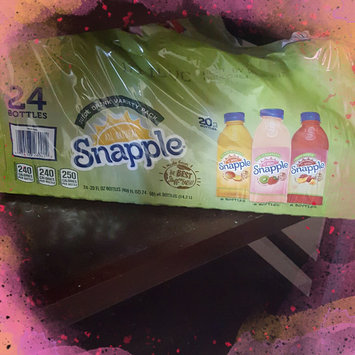 Snapple® Mango Madness/Kiwi Strawberry/Fruit Punch Variety Pack Juice Drink 24 ct Pack uploaded by keiana G.