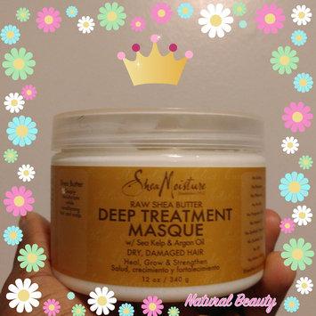 SheaMoisture Raw Shea Butter Deep Treatment Masque w/ Sea Kelp & Argan Oil uploaded by LaLa W.