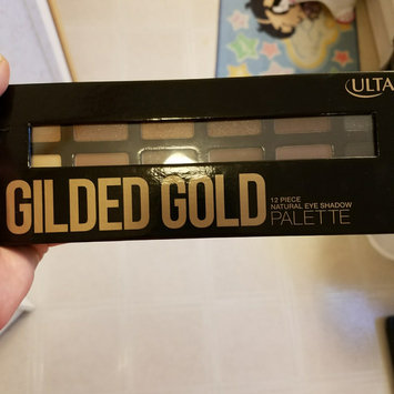 Photo of ULTA Gilded Gold Natural Eye Shadow Palette uploaded by Christina L.