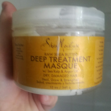 SheaMoisture Raw Shea Butter Deep Treatment Masque w/ Sea Kelp & Argan Oil uploaded by laura h.