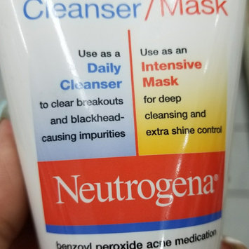 Photo of Neutrogena® Clear Pore Cleanser/Mask uploaded by Melissa J.