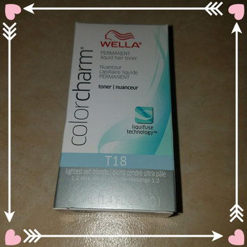 Wella Color Charm Toner T18 uploaded by Claire E.