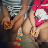 Goldfish® Colors Cheddar Baked Snack Crackers uploaded by Angeleigh J.