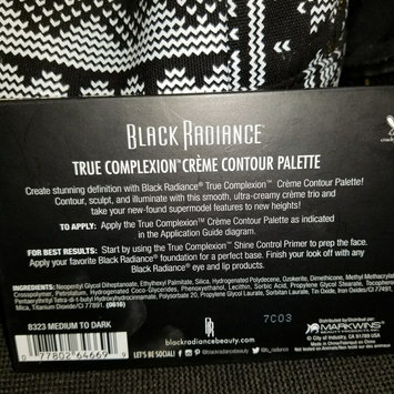 Black Radiance True Complexion Crème Contour Palette Medium to Dark .26 oz uploaded by Lyndsey B.