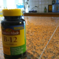 Nature Made Vitamin B-12 1000 mcg Timed Release Value Size uploaded by Leidi R.