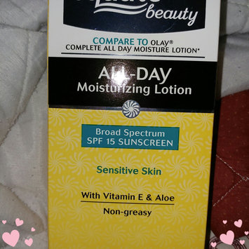 Photo of Equate Beauty Sensitive Skin All-Day Moisturizing Lotion with Sunscreen, 6 fl oz uploaded by Kayla H.