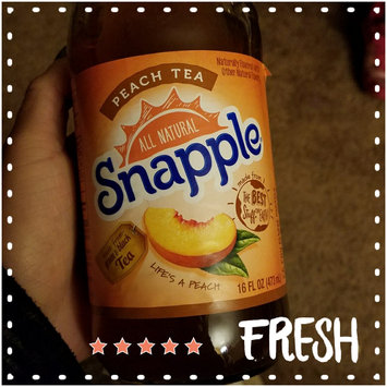 Snapple All Natural Peach Tea uploaded by Michelle D.