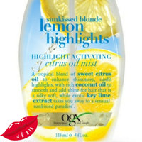OGX Citrus Oil Mist, Sunkissed Blonde Lemon Highlights uploaded by Kathy C.