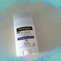 Neutrogena® Ultra Sheer® Face + Body Stick Sunscreen Broad Spectrum SPF 70 uploaded by Jo Anne R.