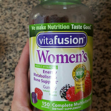 MISC BRANDS Vitafusion Women's Gummy Vitamins Complete MultiVitamin Formula uploaded by Dan J.