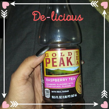 Gold Peak® Raspberry Tea 18.5 fl. oz. Plastic Bottle uploaded by Gem L.