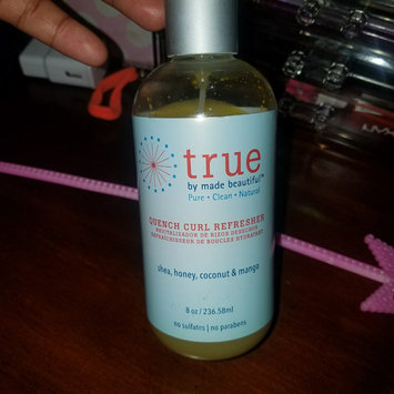 true by made beautiful Quench Curl Refresher - 8oz uploaded by Penelope g.