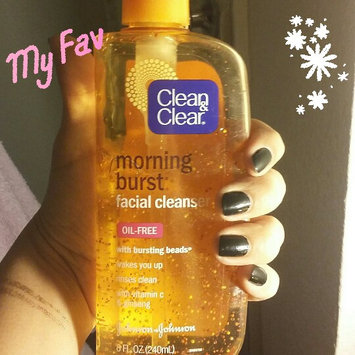 Clean & Clear Morning Burst Oil-Free Facial Cleanser uploaded by Cristina M.