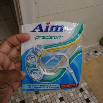 Photo of Aim Toothpaste Aim 50 ct Floss Picks Nylon Thread (Pack of 12) uploaded by Heather J.