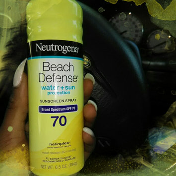 Photo of Neutrogena® Beach Defense® Water + Sun Protection Sunscreen Spray Broad Spectrum SPF 70 uploaded by Melanie G.