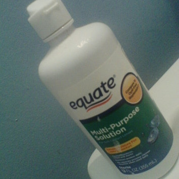Equate - Multi-Purpose Contact Lenses Solution uploaded by Tiffany A.