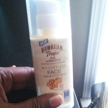 Photo of Hawaiian Tropic® Silk Hydration Weightless SPF 30 Face Sunscreen uploaded by Angerlette P.