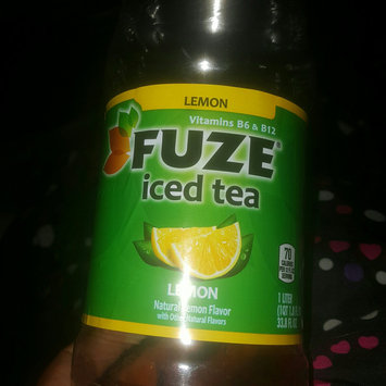 Photo of FUZE® Lemon Iced Tea 1L Plastic Bottle uploaded by Keiondra J.