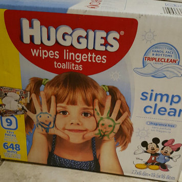 Huggies® Simply Clean Baby Wipes uploaded by Danielle H.