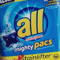 all® stainlifter® mighty pacs® Laundry Detergent 82 ct. Tub uploaded by Ashley M.