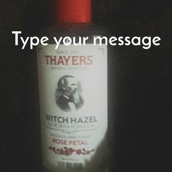 Thayers Alcohol-Free Rose Petal Witch Hazel Toner uploaded by Argelis C.