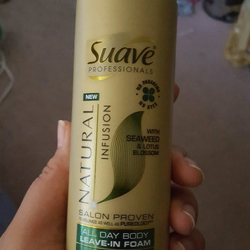Photo of Suave® Professionals Natural Infusion Leave-In Foam uploaded by Akosita M.