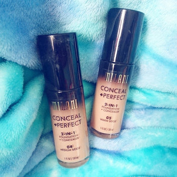 Milani Conceal + Perfect 2-in-1 Foundation + Concealer uploaded by ROMESA A.