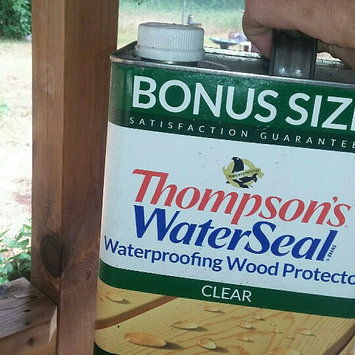 Photo of Thompson's 21802 Waterproofing Wood Protector, Clear ~ Gallon uploaded by Mary F.