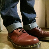 Dr. Martens Men's 1460 Classic Boot [Cherry Red Rouge Leather, 14 F(M) UK / 16 B(M) US Women / 15 D(M) US Men] uploaded by Jeremiah f.