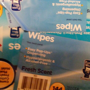 Photo of Equate Fresh Scent Flushable Wipes, 48 sheets, (Pack of 3) uploaded by RobinandBrandi M.