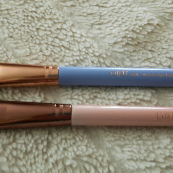 Luxie Rose Gold Synthetic 5 Piece Kabuki Brush Set uploaded by Jeri B.