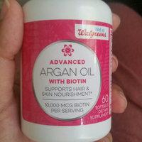 Walgreens Biotin 10,000 mcg + Argan Oil 500 mg Softgels - 60 ea uploaded by C M.