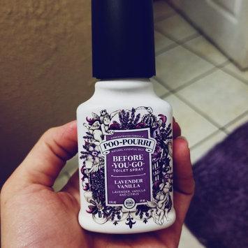 Poo Pourri Poo-Pourri Before-You-Go Toilet Spray, Lavender, Vanilla & Citrus, 2 oz uploaded by Kelly S.