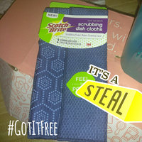 Scotch-Brite Reusable Dishcloth, Navy, 2 Count uploaded by Tempestt S.