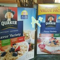 Quaker® Cinnamon & Spice Instant Oatmeal uploaded by Anita M.