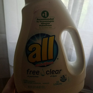Photo of all free clear Laundry Detergent uploaded by Stephanie D.