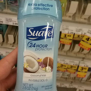 Photo of Suave Invisible Solid Antiperspirant Deodorant, Coconut Kiss uploaded by Ashley M.