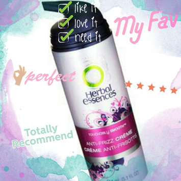 Herbal Essences Touchably Smooth Anti-Frizz Creme uploaded by Andy C.