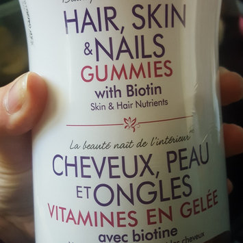 Photo of Nature's Bounty Hair, Skin & Nails Value Size Gummies uploaded by Shannon G.