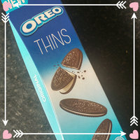 Oreo Thins Chocolate Sandwich Cookies uploaded by Kim C.