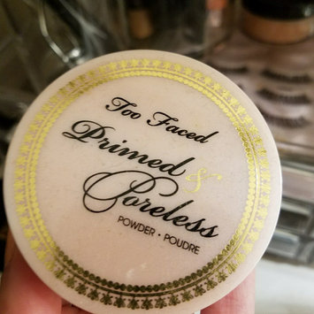 Photo of Too Faced Primed & Poreless Powder uploaded by Ashley H.