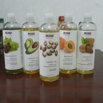 Photo of NOW Foods Solutions Castor Oil - 16 fl oz uploaded by Jeidy Lissette R.