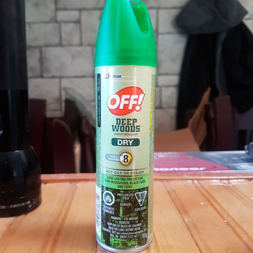 Photo of Deep Woods Off! Deep Woods Dry Aerosol Insect Repellent uploaded by Devika M.