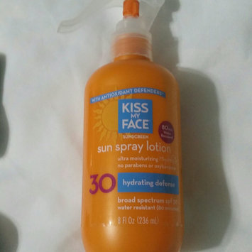 Photo of Kiss My Face Sunscreen Sun Spray Lotion uploaded by Vanessa A.