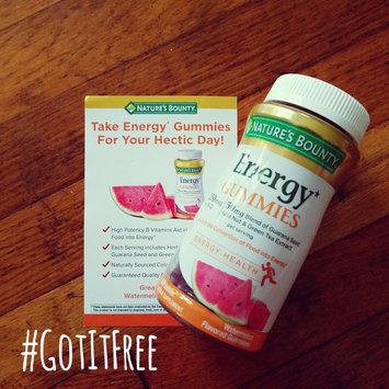 Nature's Bounty® Energy Gummies uploaded by Alyssa K.