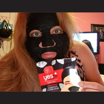 Yes to Tomatoes Paper Mask, Single Pack, Charcoal, 1 ea uploaded by crystal g.